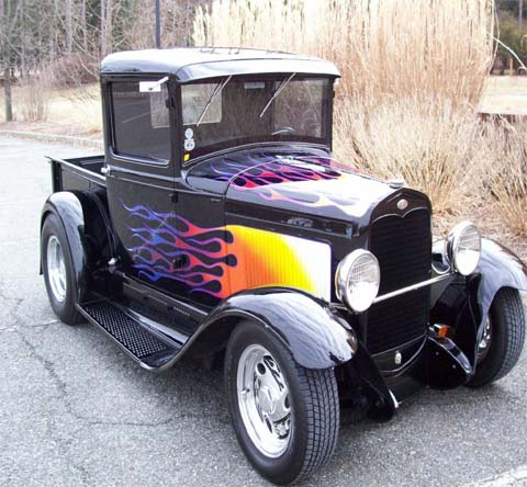 Custom Painting Tulsa 1931 Ford